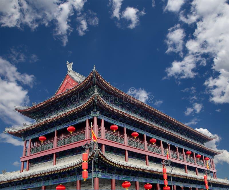 Городища Xian (Sian, Сианя), Китая стоковые фотографии rf