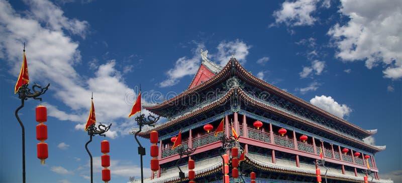 Городища Xian (Sian, Сианя), Китая стоковые фото