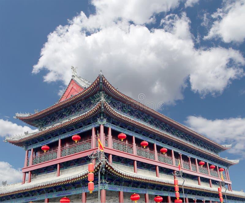 Городища Xian (Sian, Сианя), Китая стоковое изображение rf
