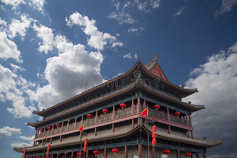 Городища Xian (Sian, Сианя) старая столица Китая стоковое фото