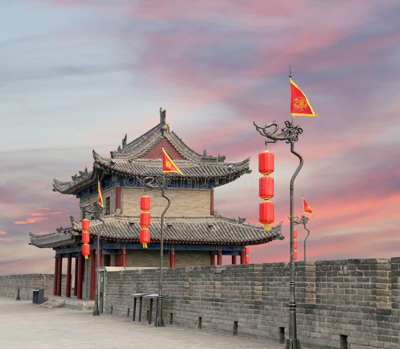 Городища Xian (Sian, Сианя) старая столица Китая стоковые фото