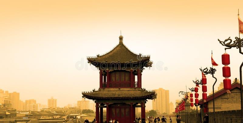 Городища Xian (Sian, Сианя) старая столица Китая стоковые изображения