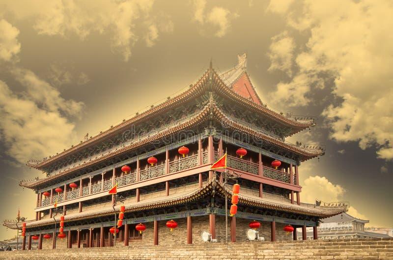 Городища Xian (Sian, Сианя) старая столица Китая стоковое изображение