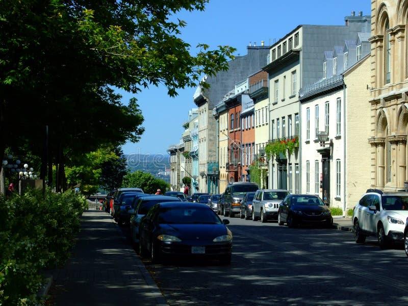 город Квебек стоковая фотография rf