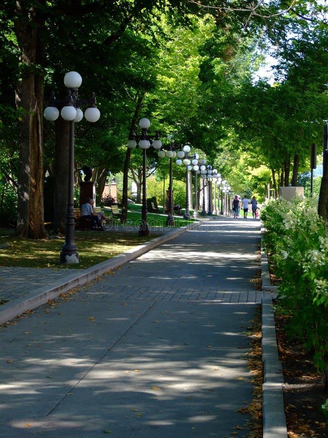 город Квебек стоковое фото rf