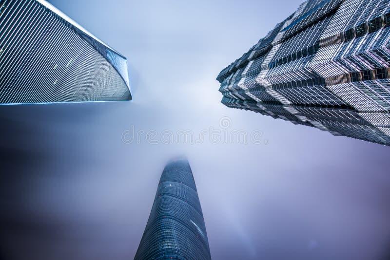 Город Китая Шанхая стоковое фото rf
