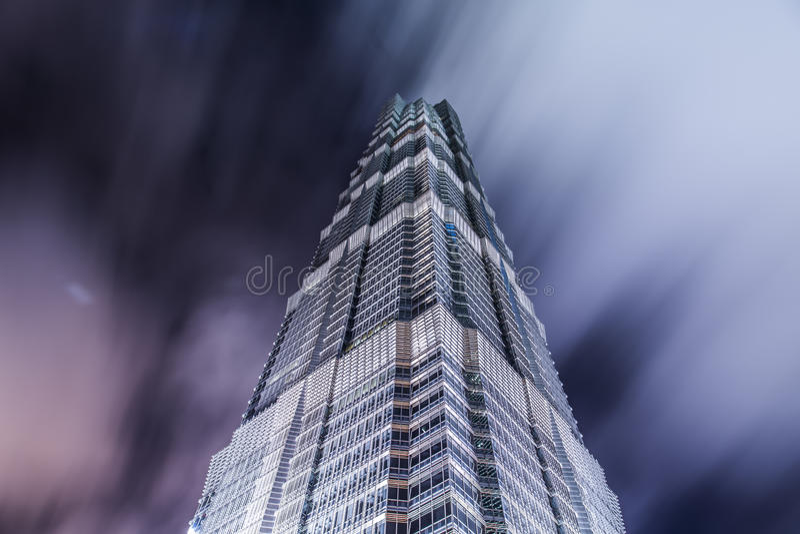 Город Китая Шанхая стоковая фотография rf