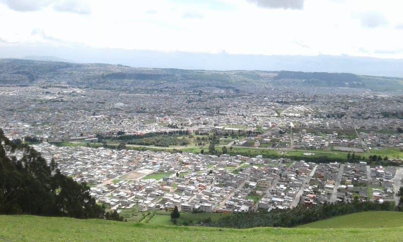 Город Кито стоковые фото