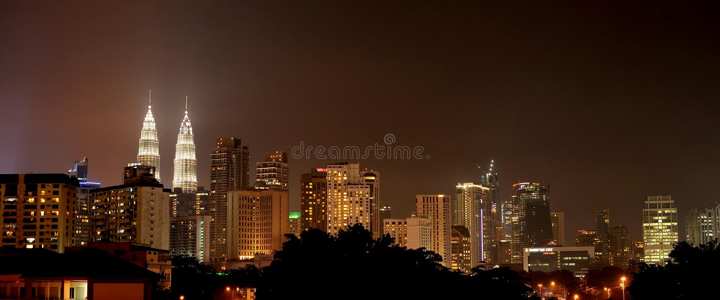 город Куала Лумпур центра стоковое фото