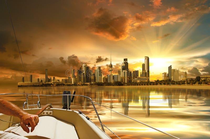 город Кувейт стоковая фотография rf