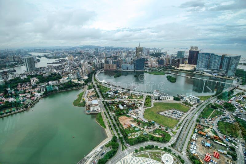 Город Макао стоковое фото