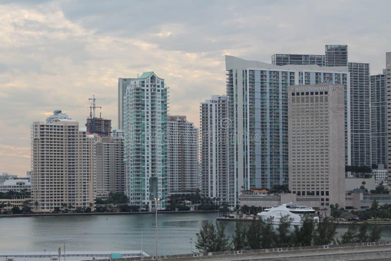 Город на воде стоковое фото
