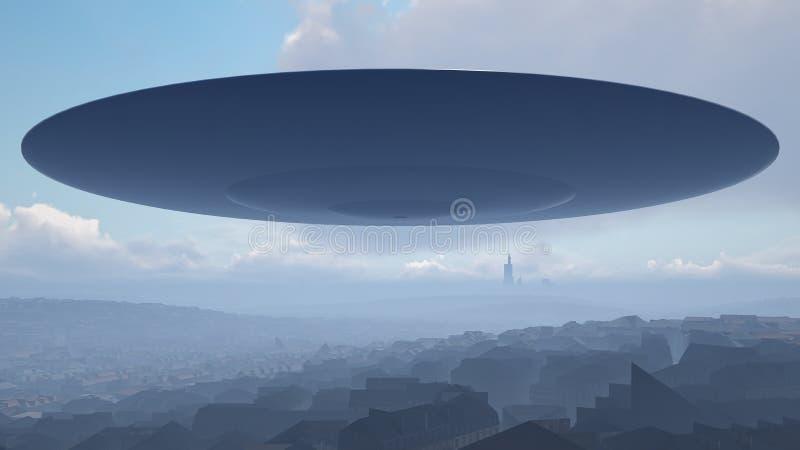 город над ufo