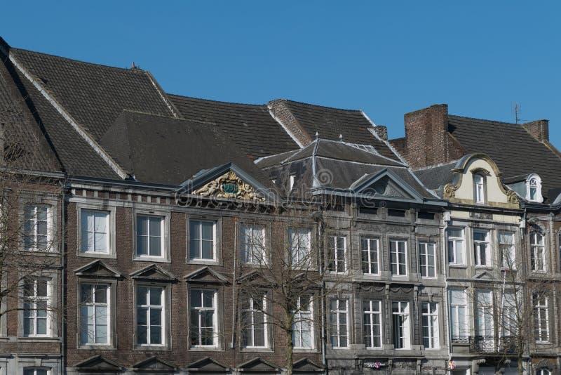 Городок взгляда дома старый стоковое изображение rf