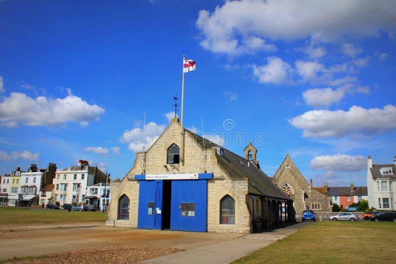 Городок Кент Англия Walmer стоковая фотография rf