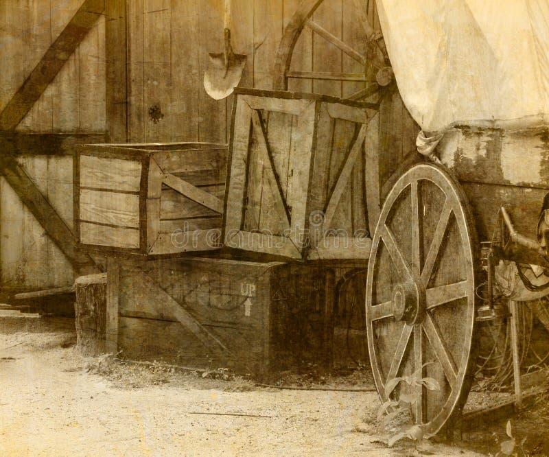 Городок ковбоя Диких Западов стоковое фото rf