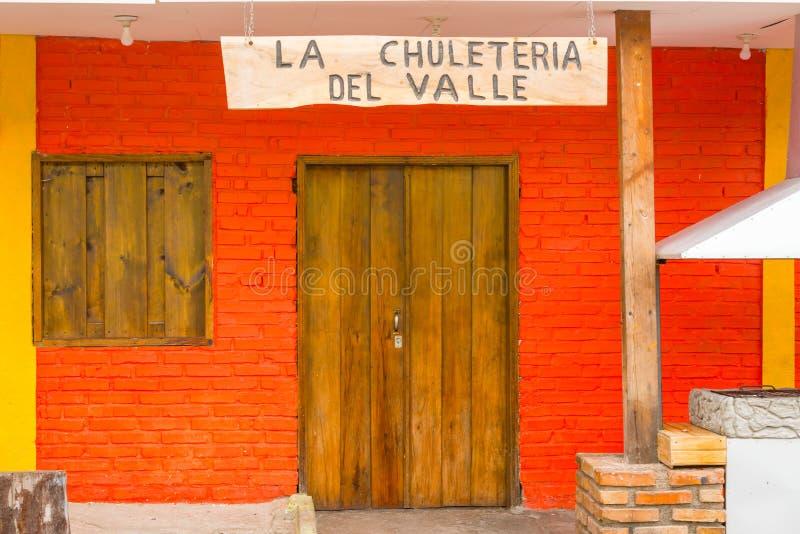 Городок минирования Valle de Анджелеса старый испанский около Тегусигальпы, Hondu стоковое фото