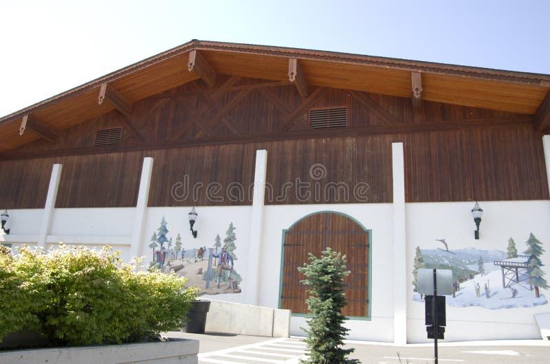 Городок немца Leavenworth стоковые изображения