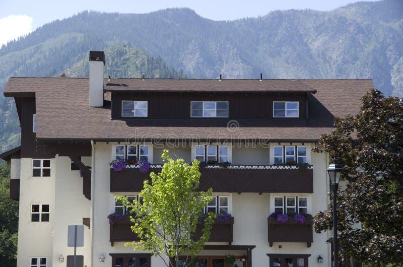 Городок немца Leavenworth стоковое изображение