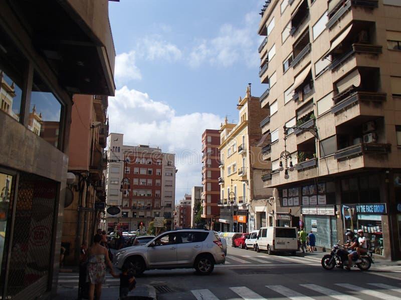 Городок Таррагоны стоковое фото rf