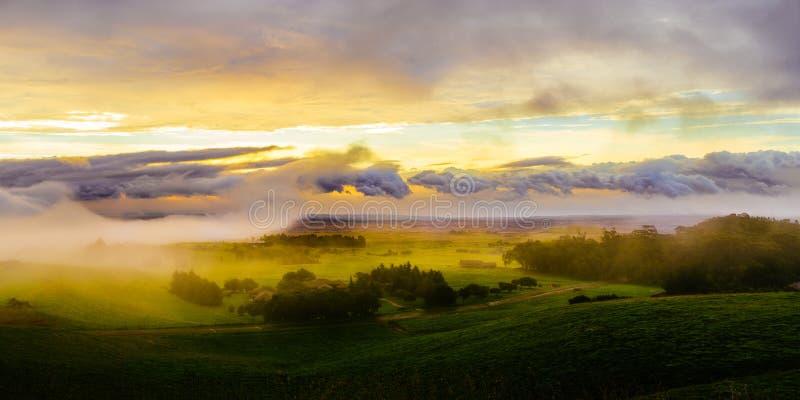 Городок фермы стоковое фото