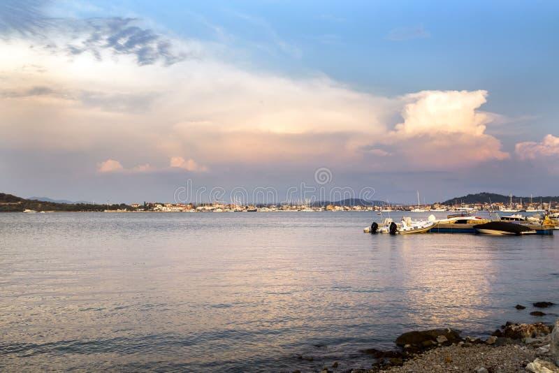 Городок Murter - Хорватии стоковые фото