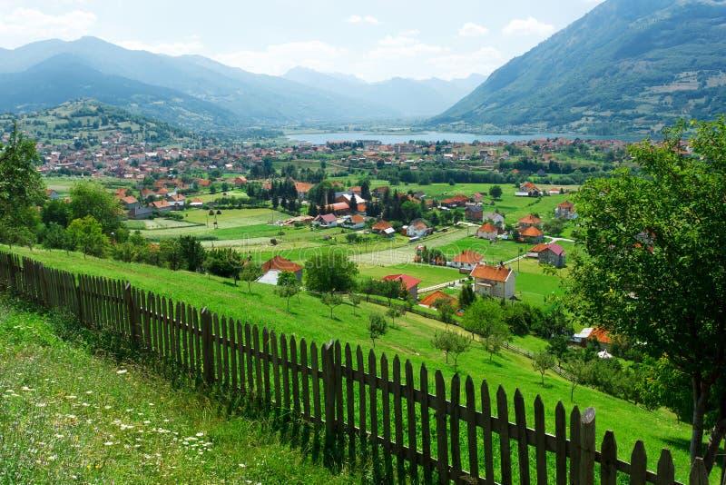 Городок Plav стоковое фото