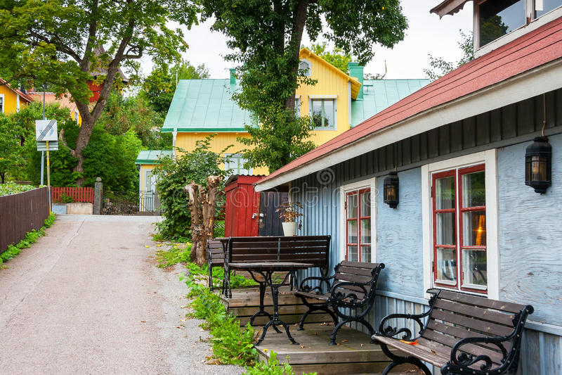 Городок Sigtuna Швеция стоковое изображение