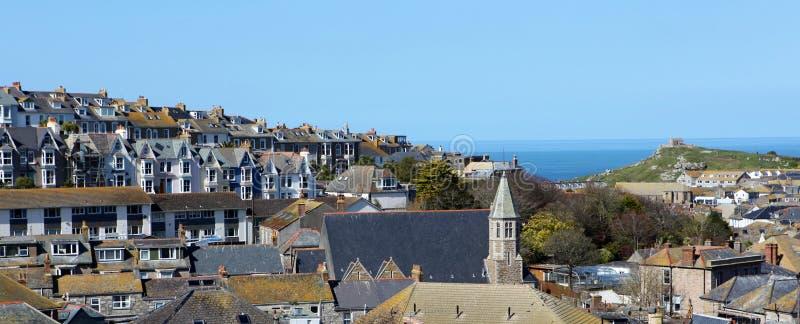 Городок St Ives стоковое фото rf