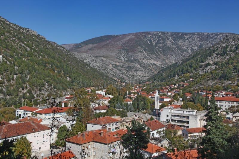 Городок Stolac стоковая фотография