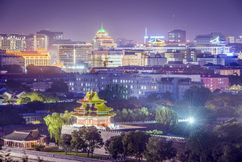 Город Пекина имперский стоковая фотография rf