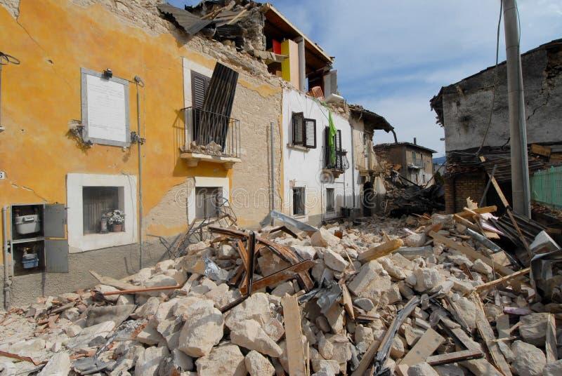 Город разрушенный  стоковое изображение rf