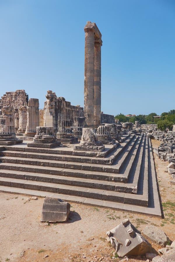 Город древнегреческия Didyma стоковые изображения