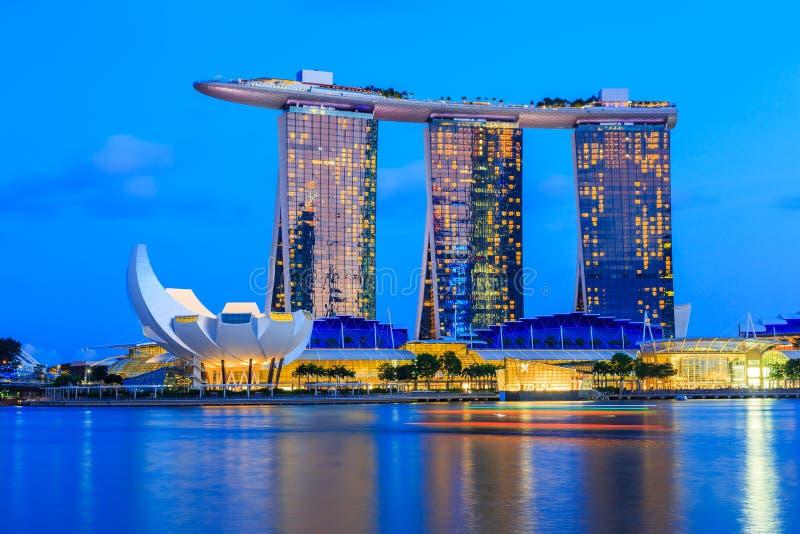 Город Сингапура, Сингапур стоковое фото rf