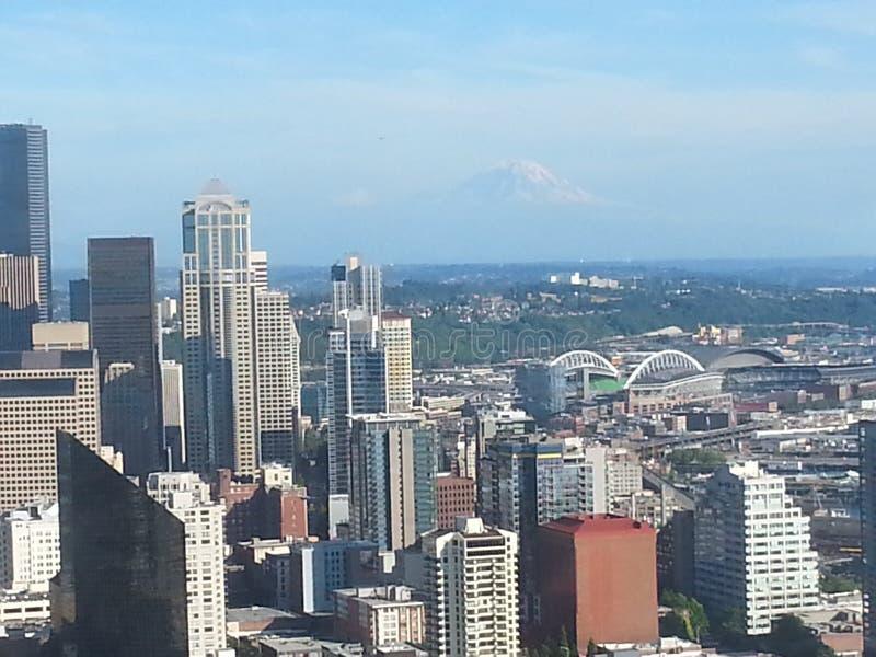 Город Сиэтл стоковое фото rf