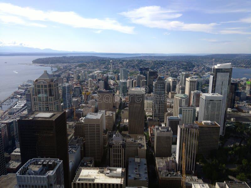 Город Сиэтл стоковые изображения rf