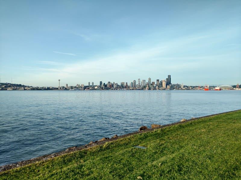 Город Сиэтл стоковая фотография