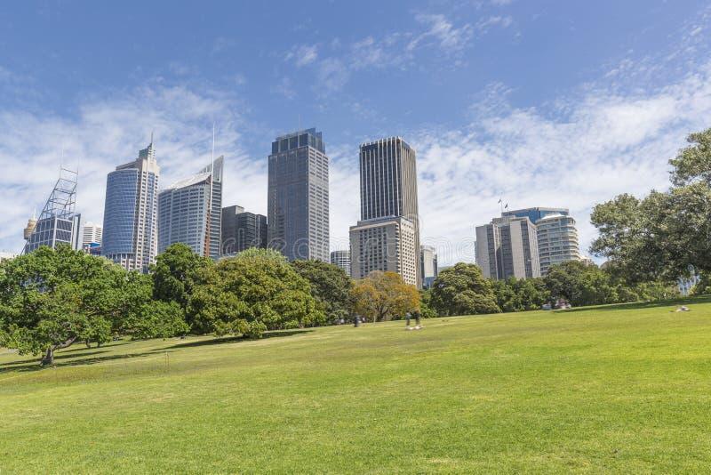Город Сидней стоковая фотография rf