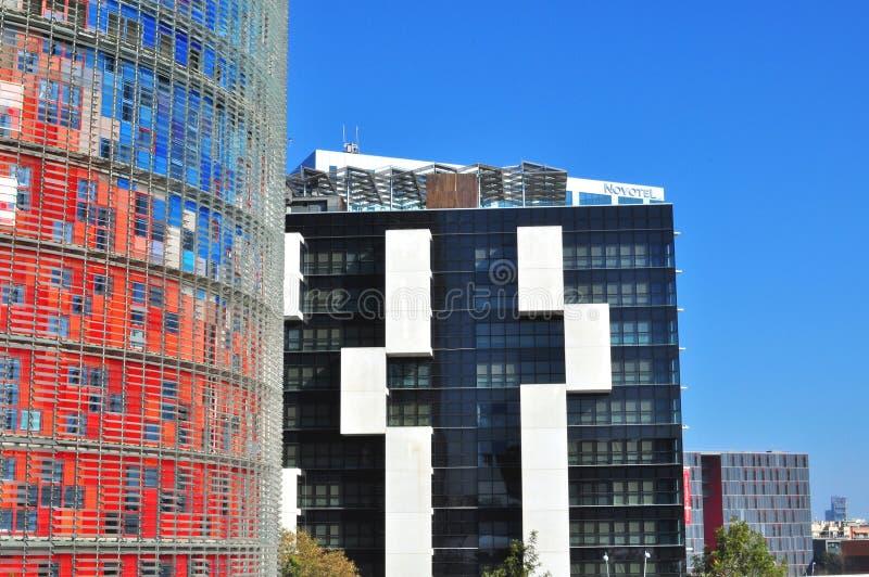 Городская архитектура Барселоны, Испании стоковая фотография rf