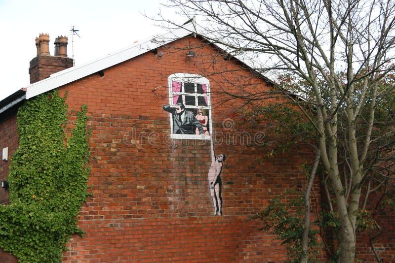 Городское искусство улицы стоковое фото