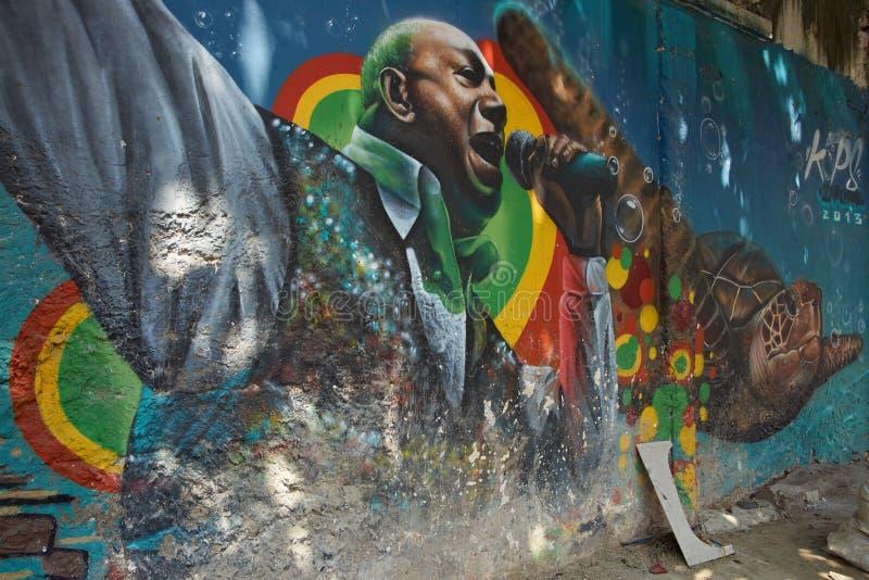 Городское искусство Cartagena de Indias стоковые фото