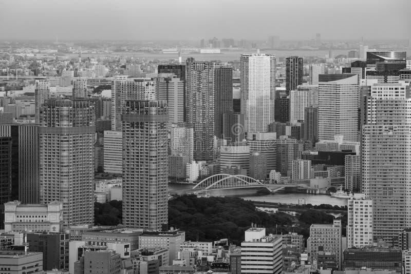 Городское токио, Япония стоковое фото