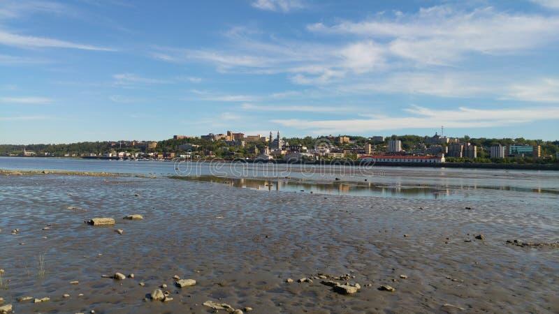 Городское Chicoutimi, Saguenay стоковые фото