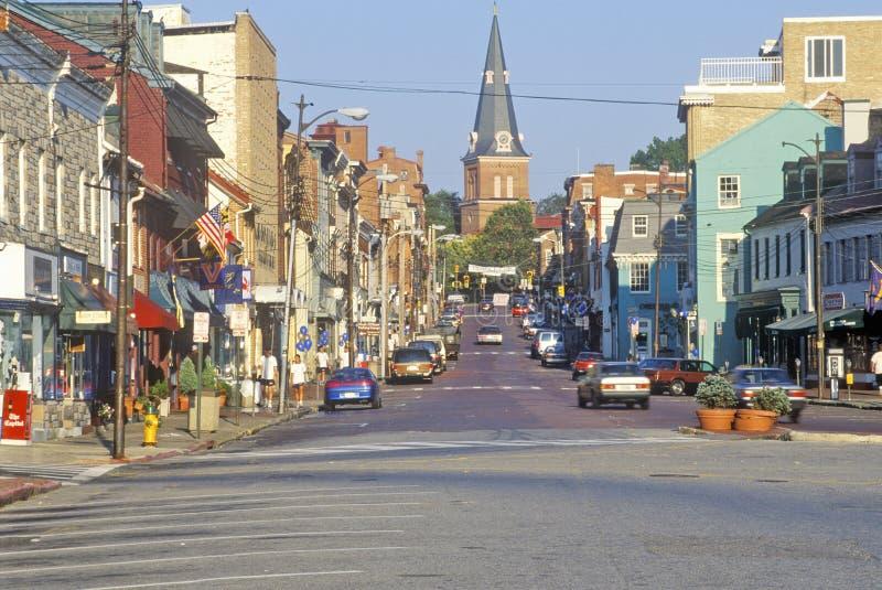 Городской Аннаполис, Мэриленд стоковые фотографии rf