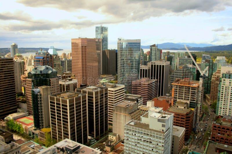 Городской Ванкувер, Канада стоковая фотография rf