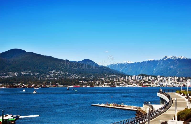 Городской Ванкувер стоковая фотография rf