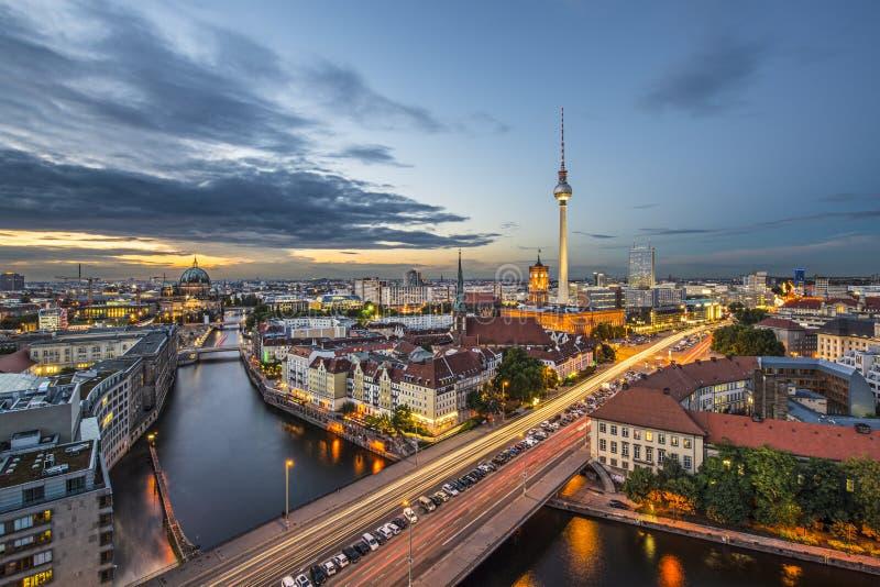Городской пейзаж Берлина стоковые изображения