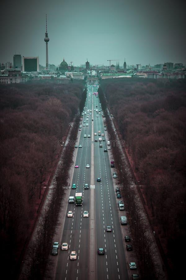 Городской пейзаж Берлина стоковое изображение rf
