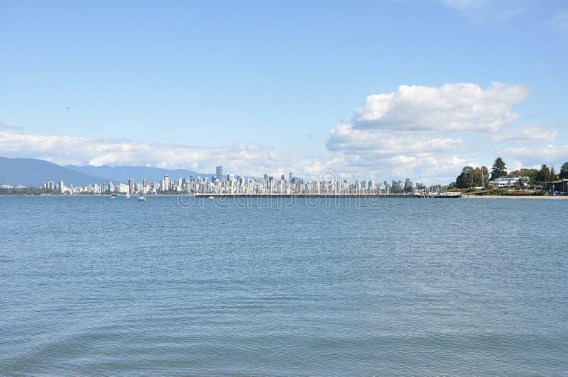 Городской пейзаж Ванкувера стоковые фото
