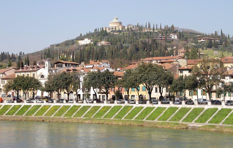 Городской пейзаж Вероны стоковые изображения rf